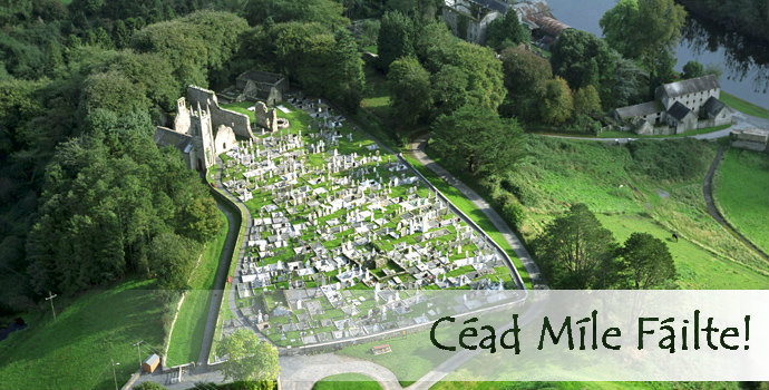 St Mullins Aerial Photo - Cead Mile Failte