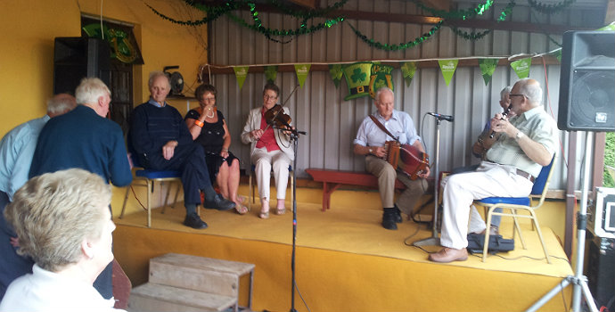 St. Mullins - Irish Music Session
